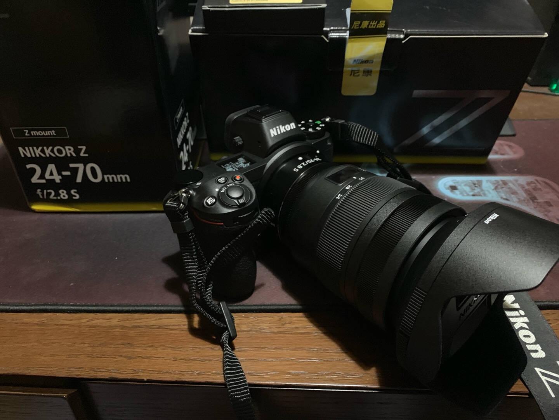 """尼康(Nikon)尼克尔Z70-200mmf/2.8VRS专业全画幅微单镜头""""大三元""""远摄变焦镜头人像/运动/旅游"""