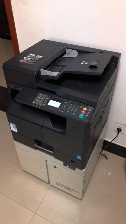 京瓷1800升级2010/2011多功能一体机A3复合机A3A4黑白激光打印扫描复印机打印机2010标配(USB线连接)单层纸盒