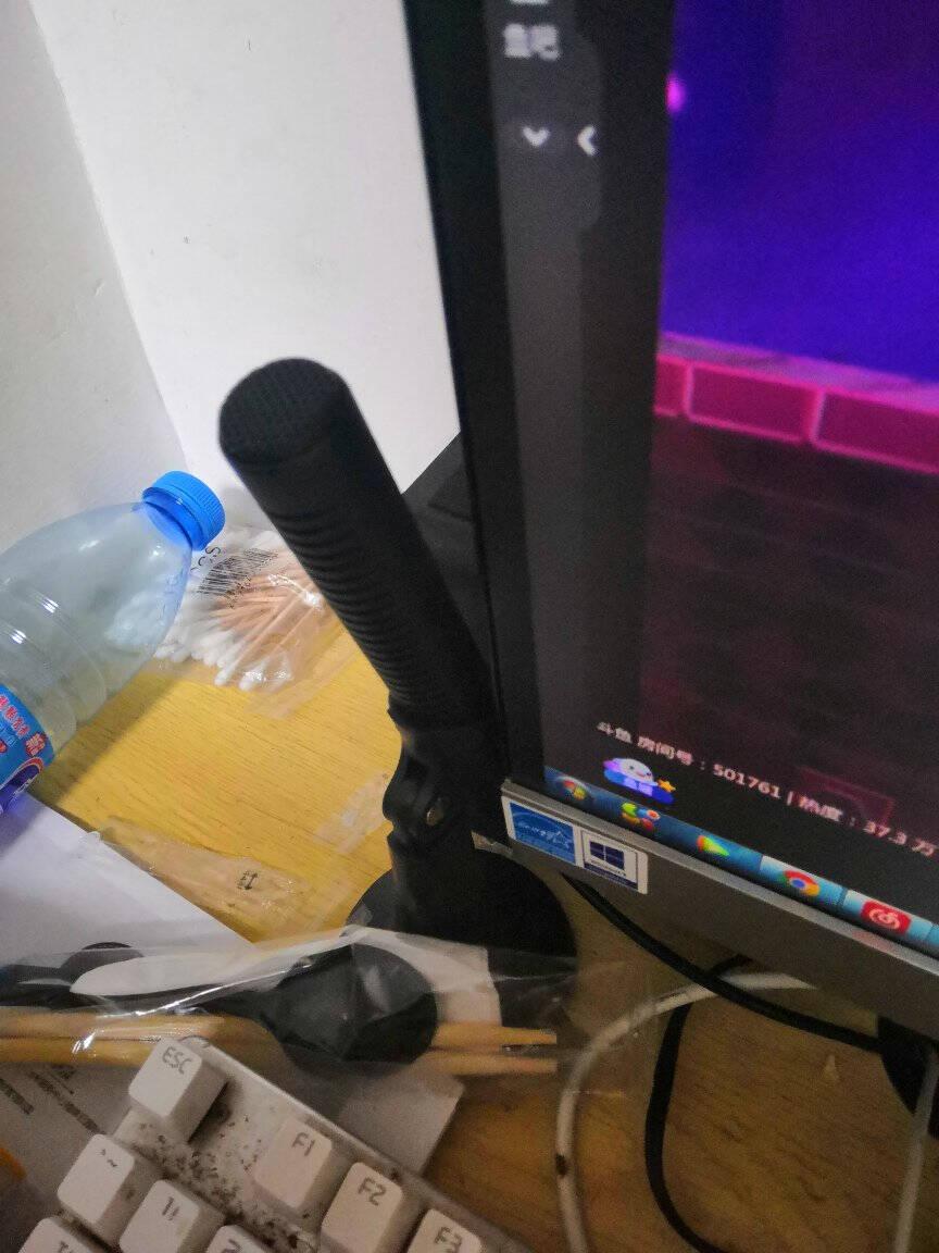 E之音E-60电脑麦克风桌面吃鸡话筒台式家用语音游戏YY主播