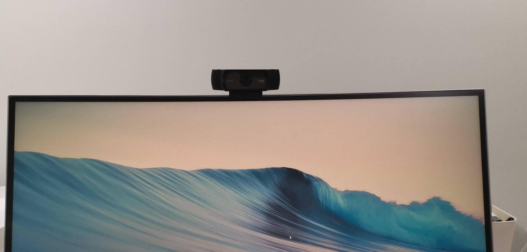 罗技(Logitech)C270高清网络摄像头高清视频通话即插即用720P网络课程远程教育台式机电脑摄像头