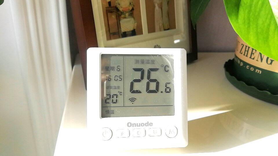 Onuode欧诺德8606有线/8606RS无线壁挂炉温控器周编程电池款温控器8606RS无线款(全国邮寄)