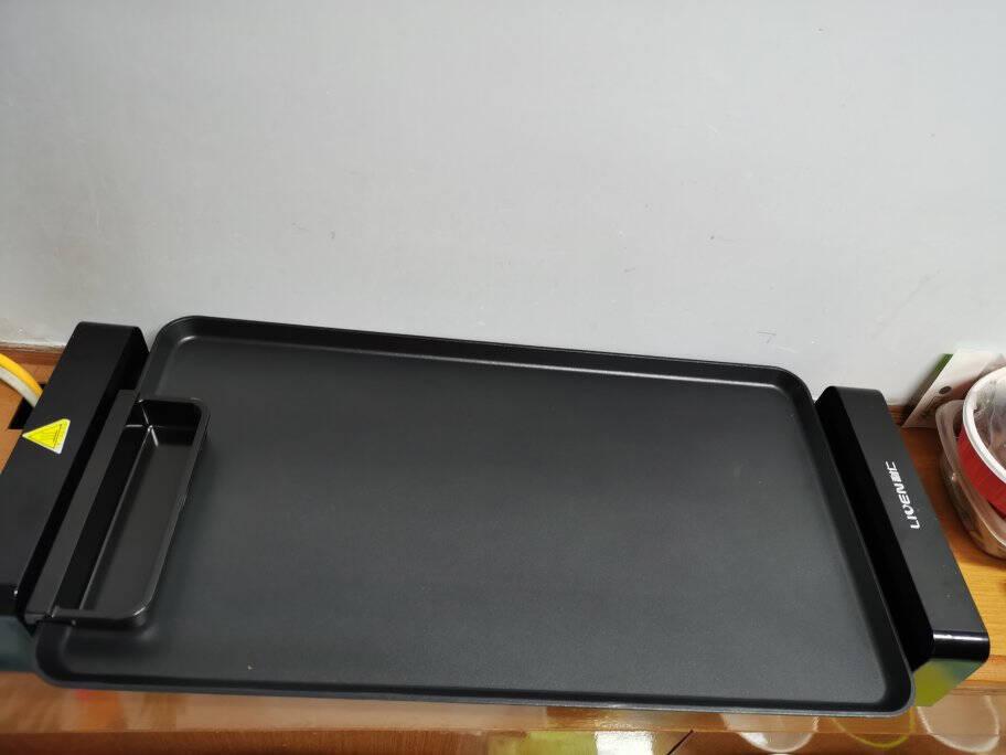 利仁(Liven)家用电烧烤炉可拆盘烤串机烤肉锅室内烤肉机电烧烤架KL-J361