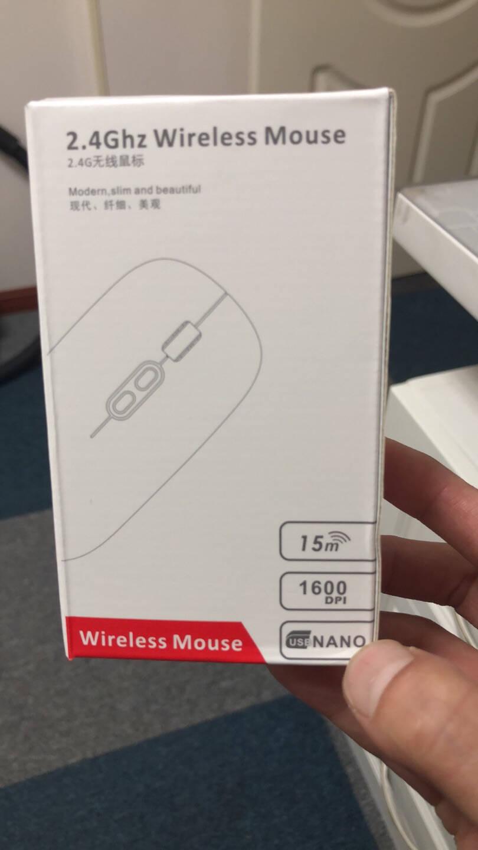 前行者蓝牙双模无线鼠标可充电男女生台式电脑办公家用苹果mac笔记本无限电池超薄可爱游戏静音太空银-【无线-充电静音】