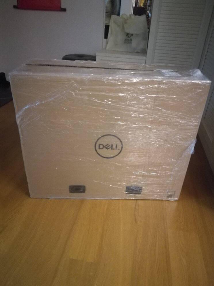 戴尔dell灵越5401微边框高色域台式机一体机电脑家用办公23.8英寸(十一代i5-1135G716G256GSSD+1T)黑