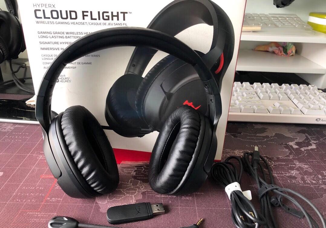 金士顿HyperX天箭无线游戏耳机,吃鸡轻松听声辨位,送男友游戏礼物
