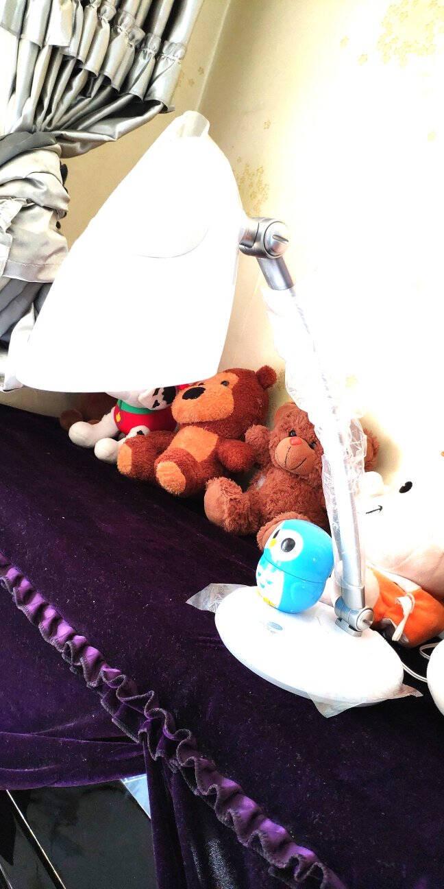 欧普照明(OPPLE)LED台灯学习阅读学生书桌卧室床头宿舍儿童读写节能爱眼多档调光探索者