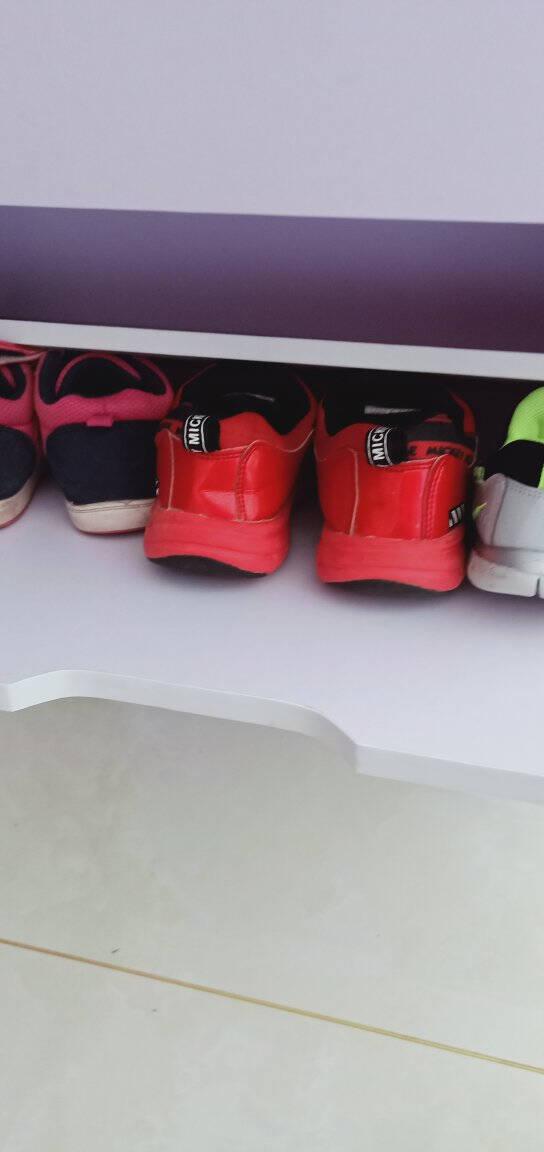雅美乐鞋柜超薄防尘玄关鞋柜简约多功能三门翻斗鞋柜鞋架白色YXG301