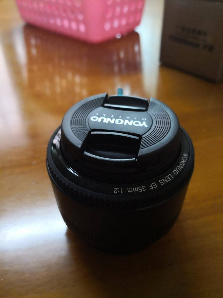 永诺YN35mmF2佳能口自动全画幅广角定焦镜头人像镜头旅游风景佳能EOS数码单反相机镜头