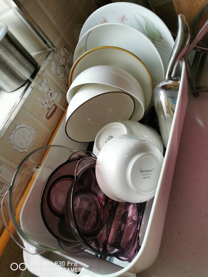 佳佰沥水碗架厨房置物架沥水篮储物架洗菜篮水槽沥水架厨房用品