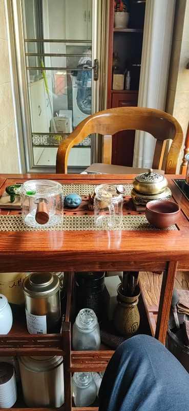 和沐红木家具非洲花梨(学名:刺猬紫檀)全实木小茶桌新中式可移动茶车自动烧水功夫茶几桌阳台泡茶桌小茶桌+全自动电炉+脚轮