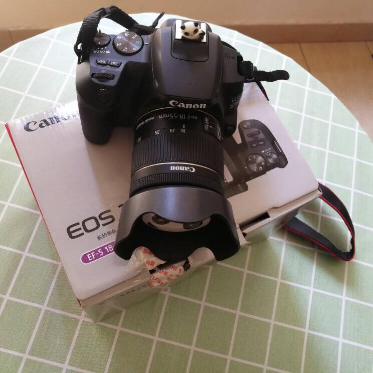 佳能(Canon)EOS200D二代入门级单反相机数码相机家用高清旅游照相机200DII18-55mmISSTM白色128G套餐