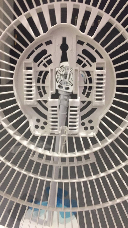美的(Midea)电风扇落地扇家用台式两用落地风扇静音小电扇台扇小风扇立式迷你扇SAB40A两用款