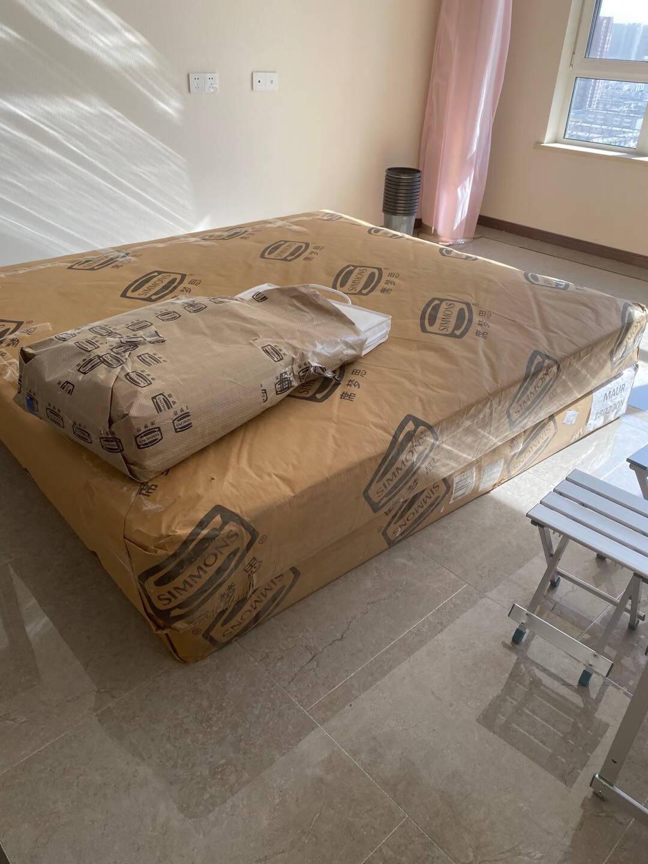 美国Simmons席梦思官方床垫独立袋装弹簧双人硬护脊系列2021新升级款新曙光1.5m1.8米新曙光床垫1800*2000*240
