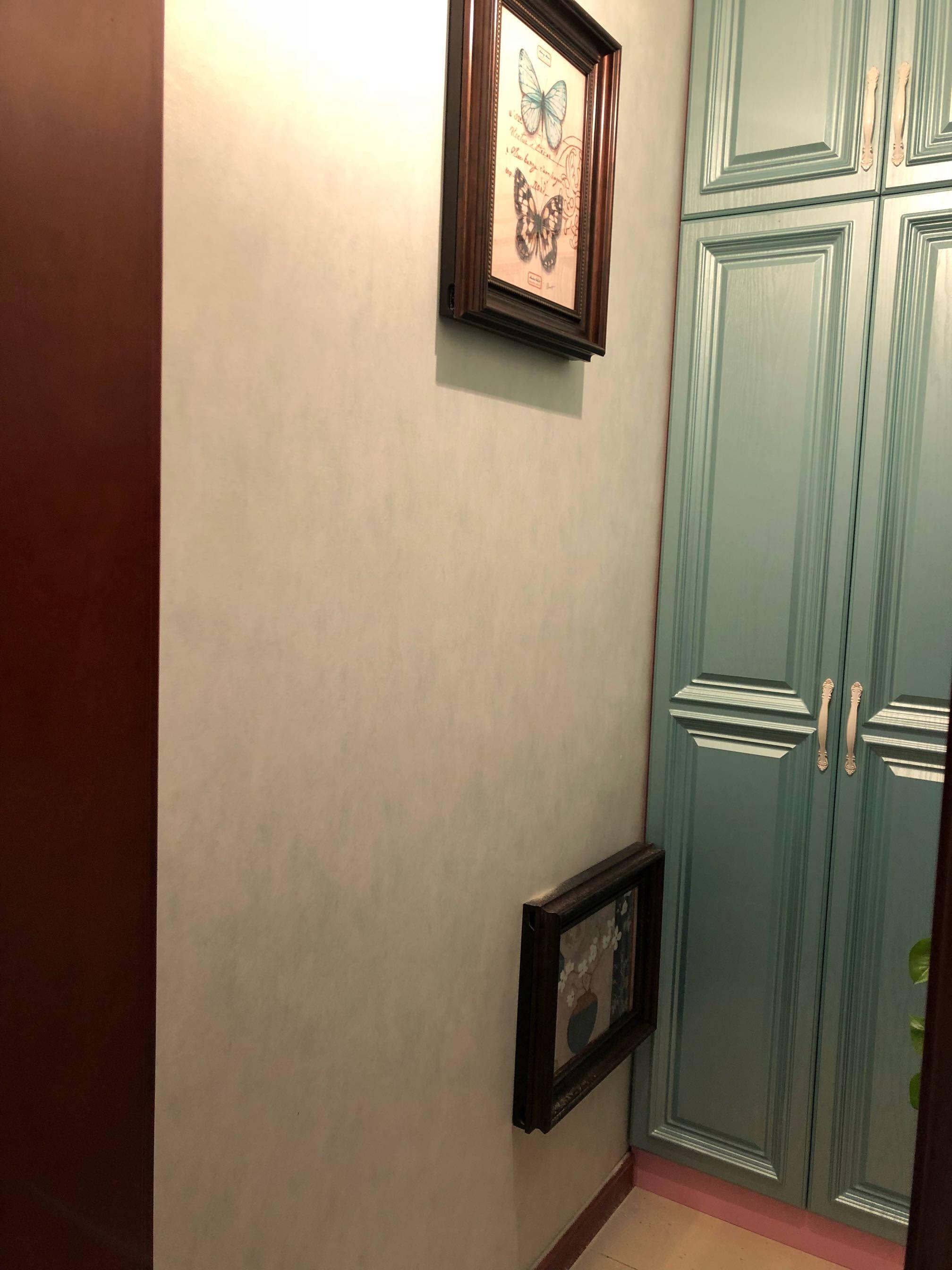艺米电表箱装饰画配电箱画美式液压翻盖新中式可推拉弱电箱遮挡画黄金大道竖55x横70cm(可收纳40x60cm电箱)