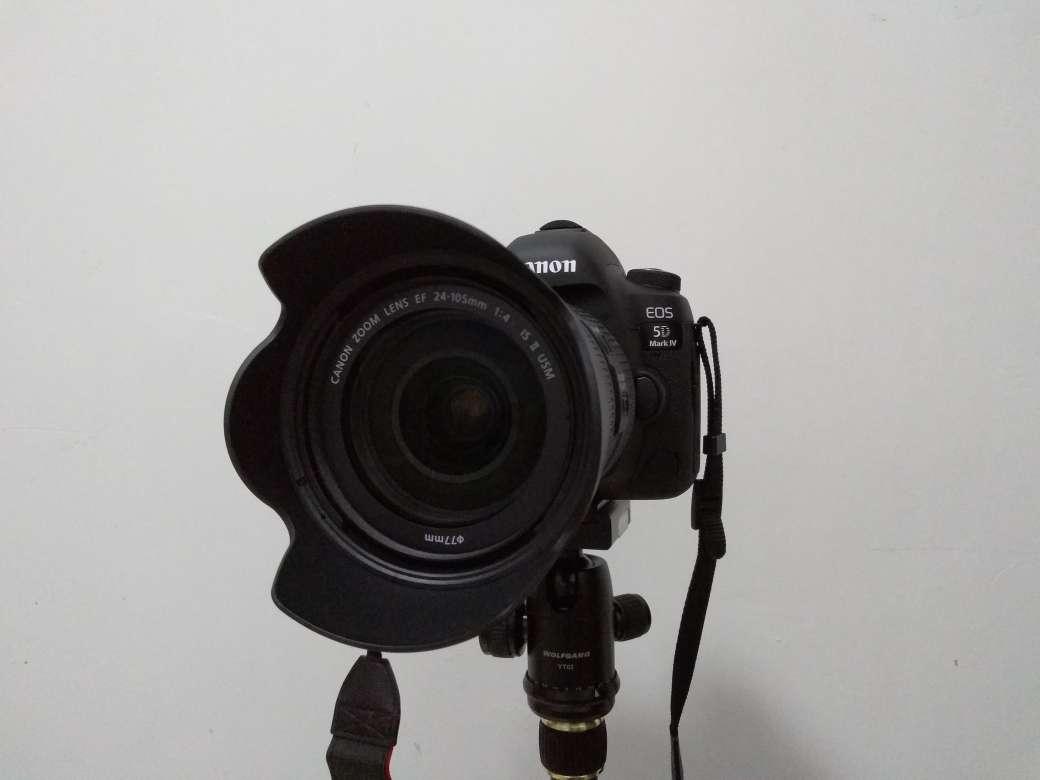 佳能(Canon)EOS5DMarkIV/5D4专业全画幅数码单反相机4K视频24-70mmf/2.8专票豪华套餐3