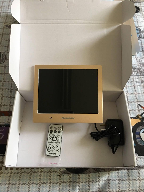 纽曼(Newsmy)D08MHD8英寸高清数码相框音视频播放土豪金送礼佳品