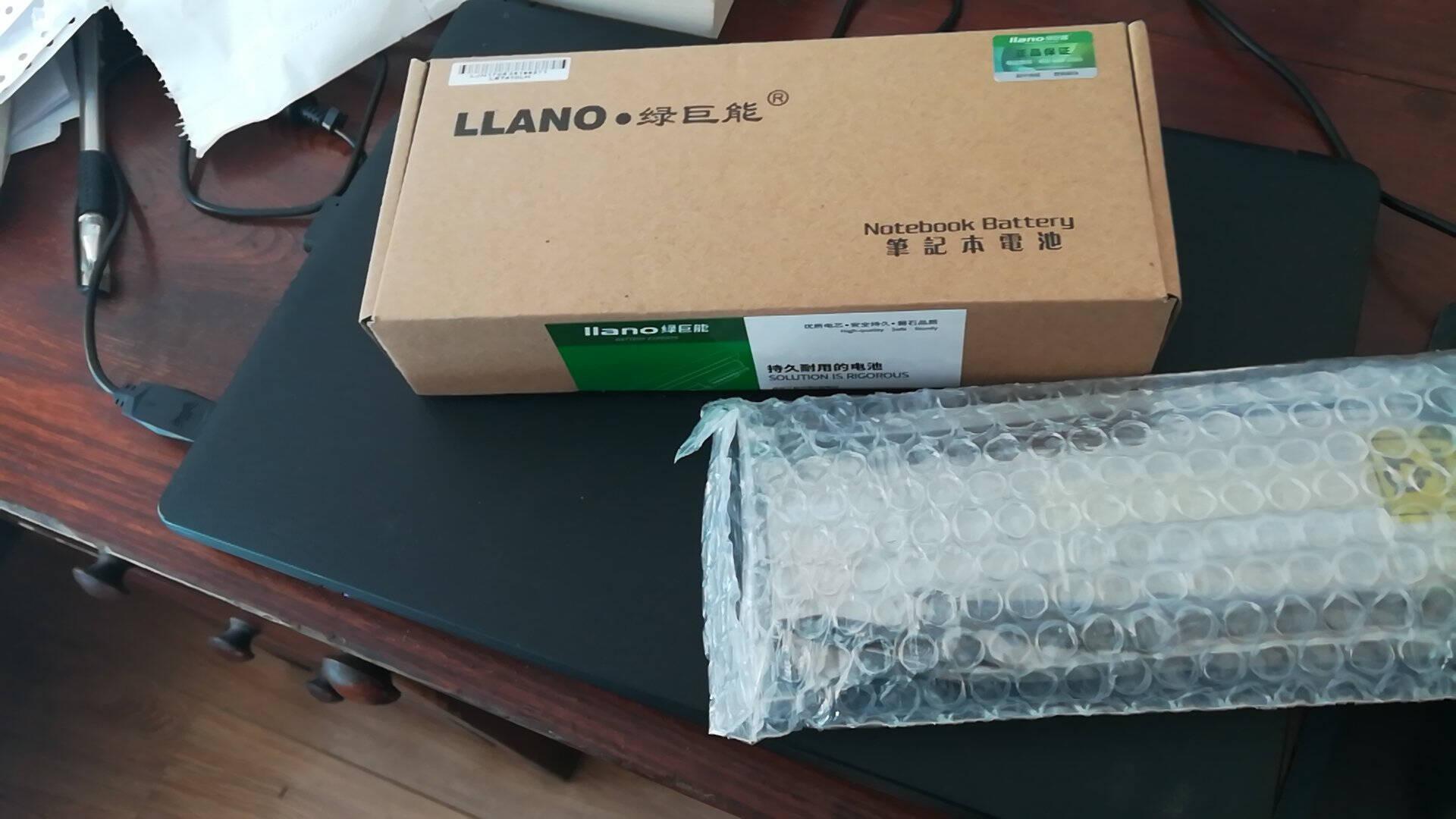 绿巨能(llano)联想笔记本电池E40E50E420E520L410SL410KSL510T410T420T510Thinkpad电脑电池