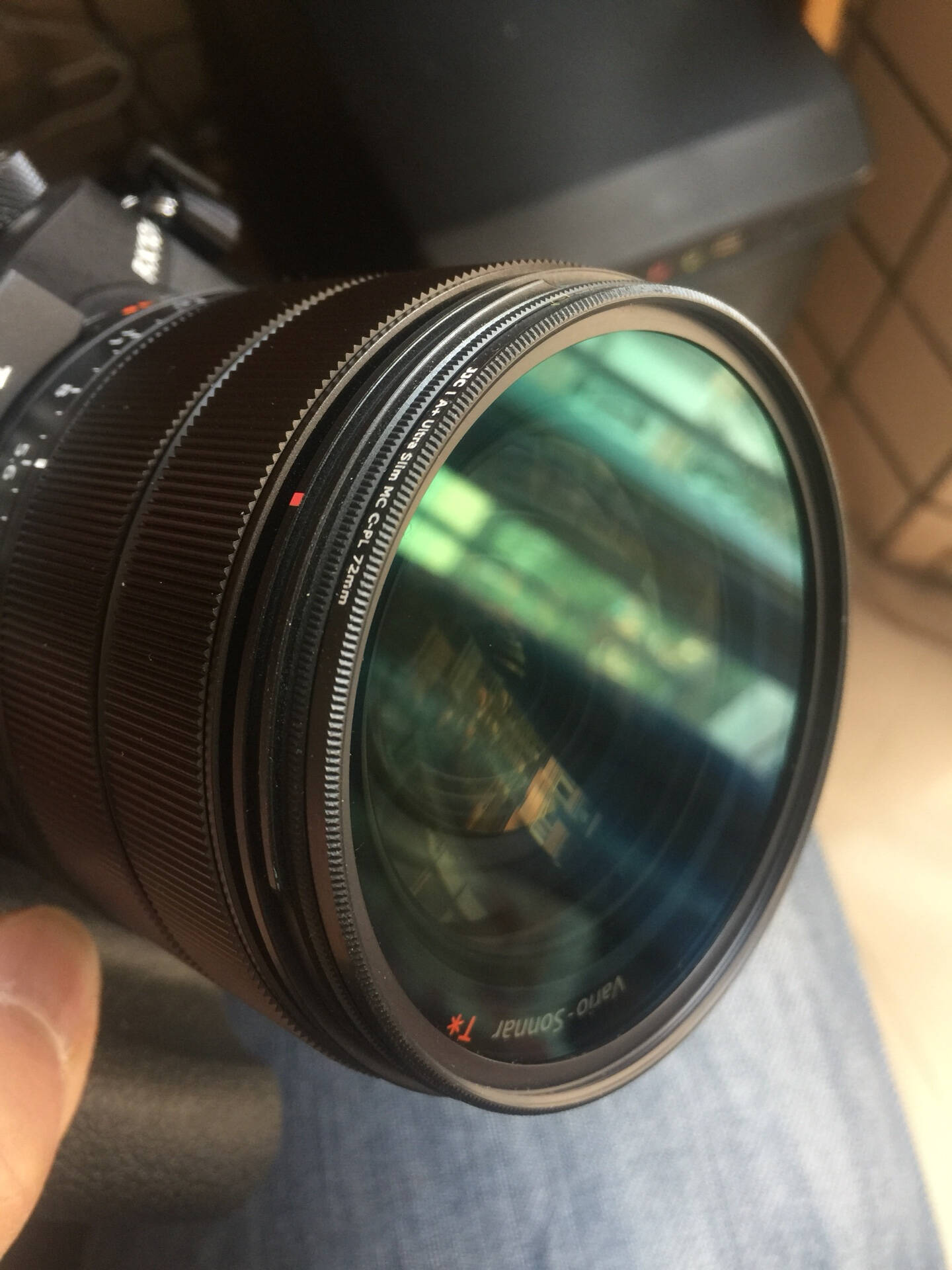 JJC偏振镜CPL适用于尼康佳能索尼富士40.54952586267727782mm52mm
