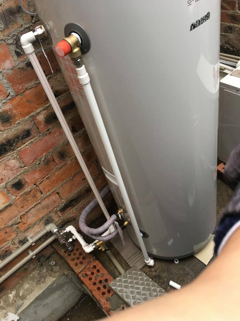 【10年包修】海尔(Haier)空气能热水器家用空气源热泵安全节能恒温沐浴泡澡全屋多点供水200升(适用2-5人)舒尚安全节能至选