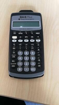 TEXASINSTRUMENTS德州仪器TIbaiiplus计算器金融计算器CFA考试用普通版(标配+六样好礼)