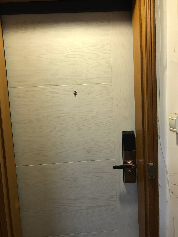 TAOTAO涛涛甲级防盗门安全门进户门入户门智能指纹锁C级锁芯定制单门子母门标准门960*2050机械锁