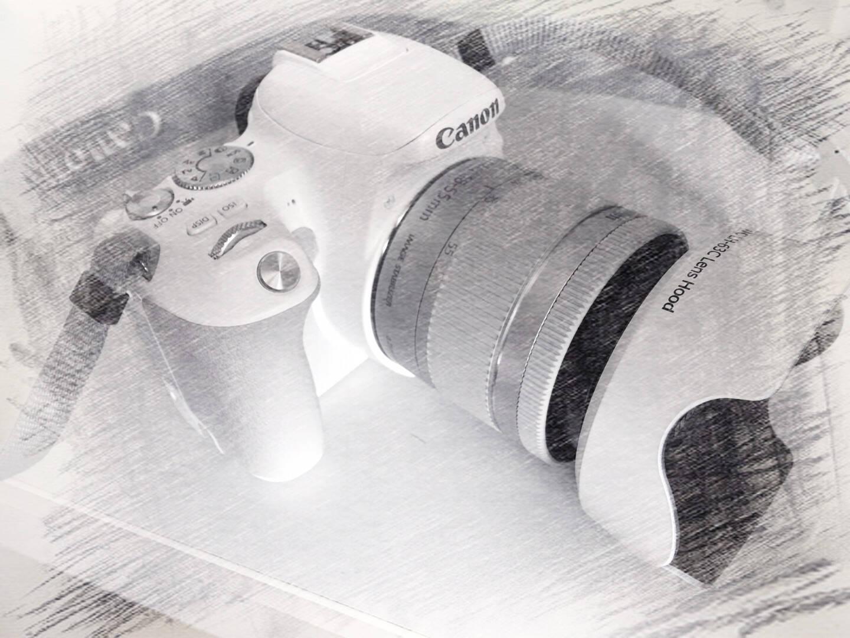 JJC佳能18-55STMEW-63C遮光罩800D700D750D100D200DII白色100D200D200DII+18-55
