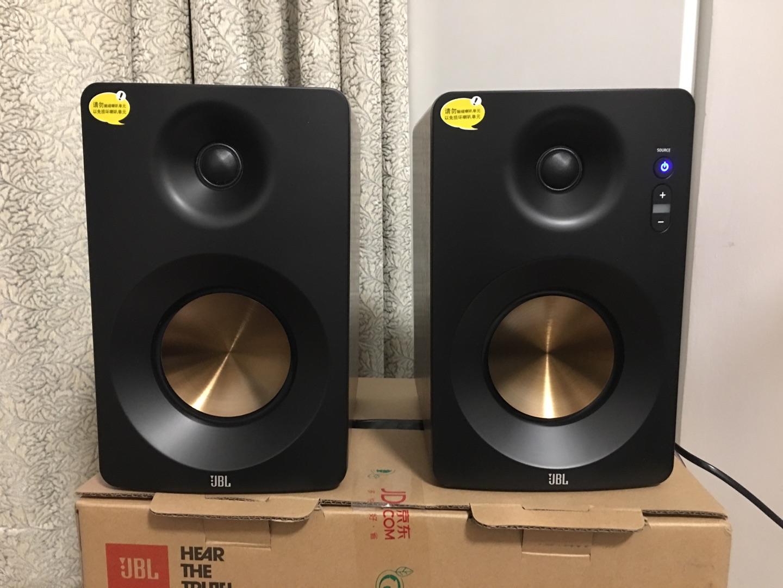 JBL高保真有源监听2.0音箱,三频均衡的数码礼物