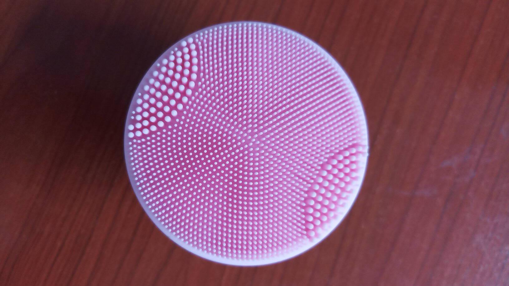 京东京造硅胶声波洁面仪超柔软刷毛洗面仪电动毛孔清洁美容8档位长续航