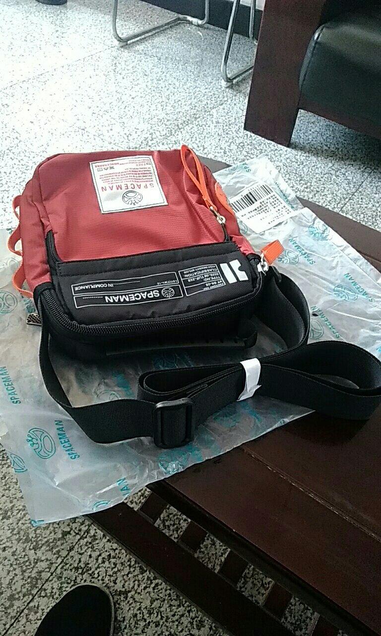 b54677fca211 Spark Man (SPACEMAN) Мужская сумка для мешка Маленькая ...