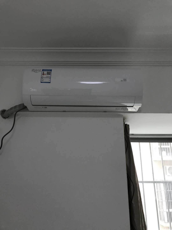 美的出品大风口挂机大1匹1.5匹卧室壁挂式手机遥控华凌空调新能效变频冷暖一键防直吹大一匹新级效HG3
