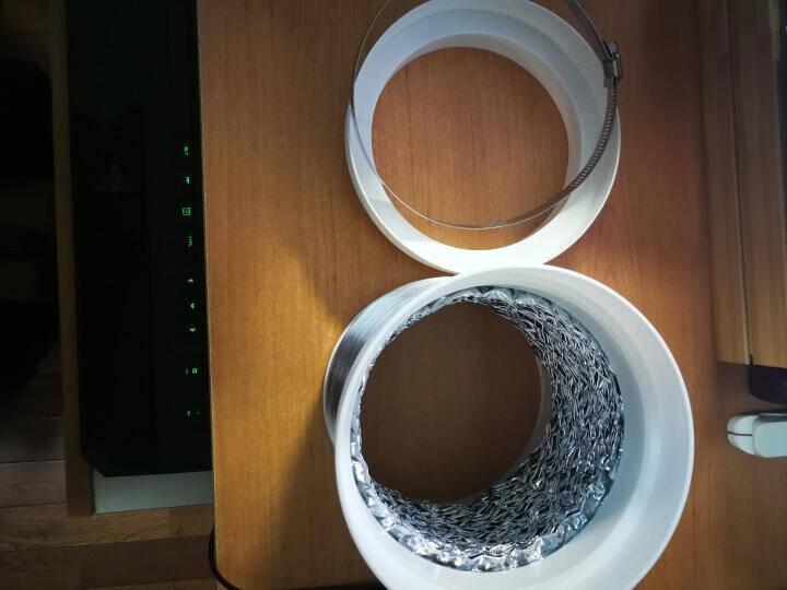米的(mediy)油烟机烟管吸油烟机排烟管出风管铝箔烟管油烟机排气管烟管通用多口径2米YG020
