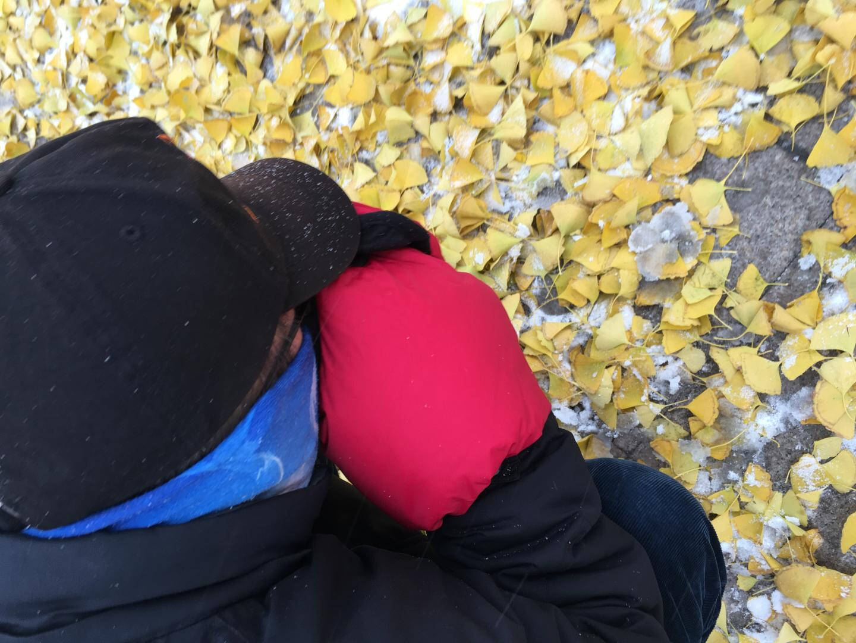 佰卓羽绒保暖套适用索尼佳能尼康三星松下微单相机冬季摄影罩防寒保温延长电池时间暖手迷彩橙