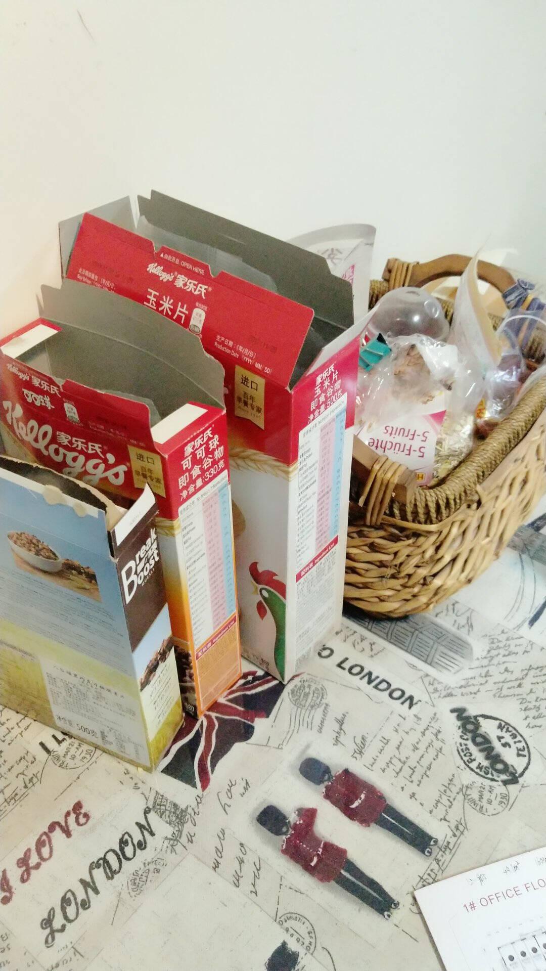 泰国进口家乐氏(Kellogg's)香脆麦米片营养谷物代餐即食谷物早餐370g