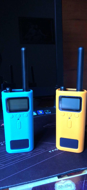 小米(MI)米家对讲机1s民用迷你户外自驾游无线专业对讲机FM收音机小米对讲机1S(蓝色)