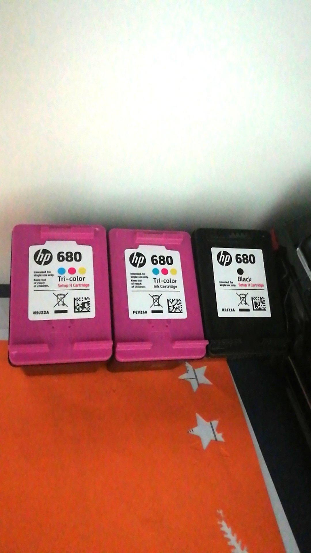 Hp 680 Cartridge Black Color Suit For 3638 3636 4678 3838 2138 Tinta Original Translating
