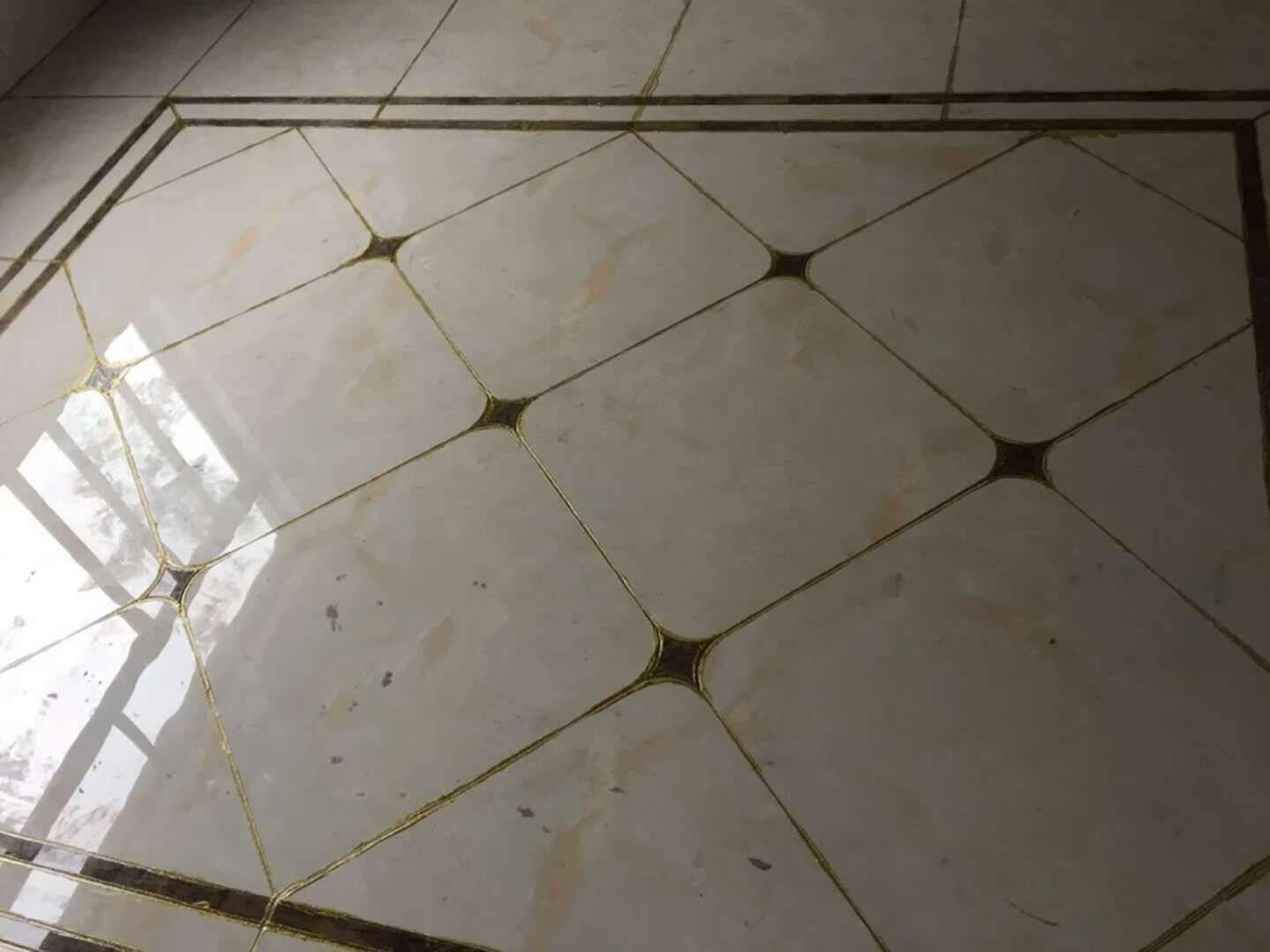 诗睿瓷砖美缝剂双管陶瓷胶双组份勾缝剂填缝剂真瓷胶卫生间防水防霉地砖墙缝墙砖通用美缝镏金色