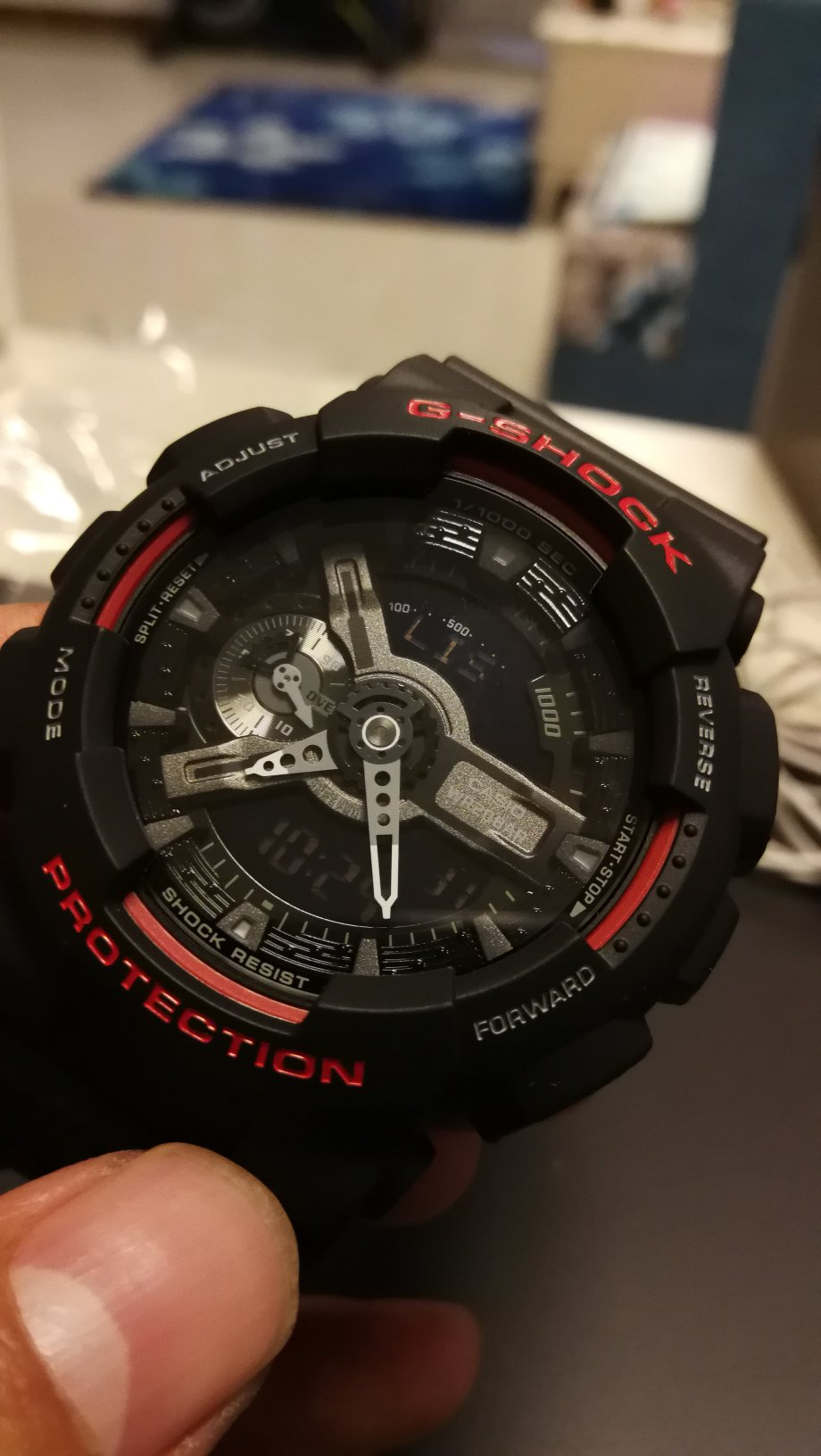 Casio Watch G Shock Youth Series Mens Shockproof And Anti Ga 110hr 1adr Translating