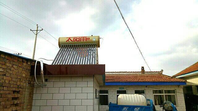 太阳雨(sunrain)T系列家用全自动上水太阳能保热墙热水器防冻速热节能保热墙电辅加热智能仪表【送货入户】180L(建议4~5人)