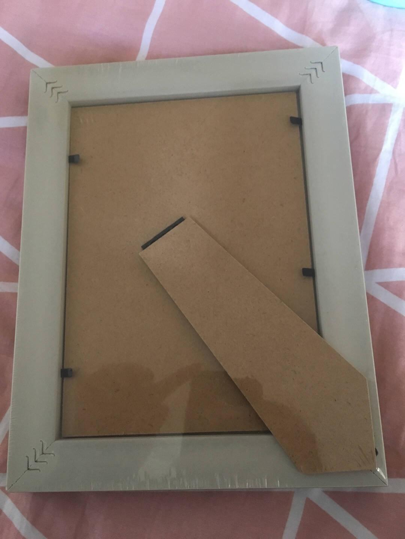 意尔嫚相框照片墙欧式挂画墙面装饰桌面摆件结婚照宝宝相框照片框摆台挂墙7寸白木色(摆挂两用)