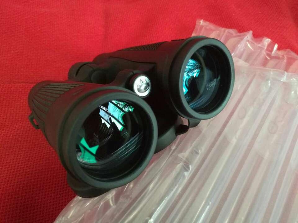 博冠(BOSMA)双筒望远镜猎手2代高清高倍BAK4棱镜大目镜大视野非红外夜视望远镜二代猎手II7X50