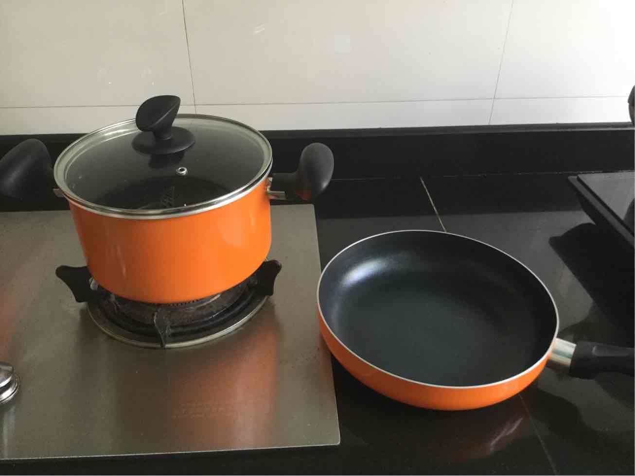 苏泊尔(SUPOR)苏泊尔不粘套装锅三件套TP1612E明火燃气适用不粘厨具锅具套装