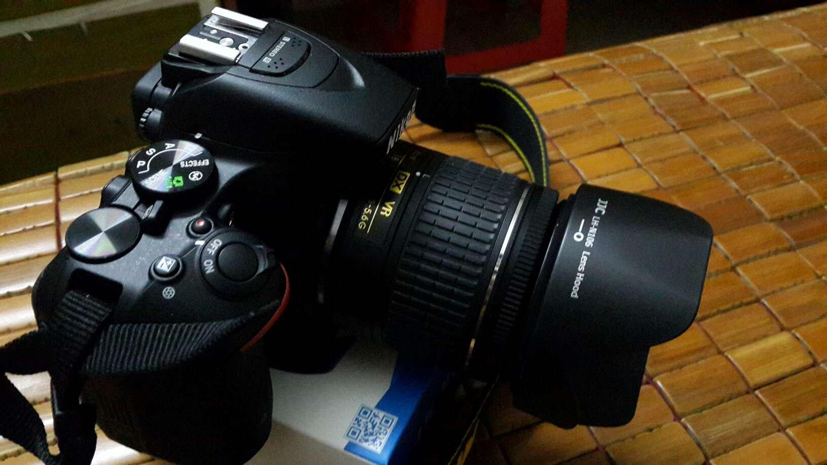 JJCHB-N106遮光罩适用于尼康AF-P18-55D3400D3500D5600HB-N106