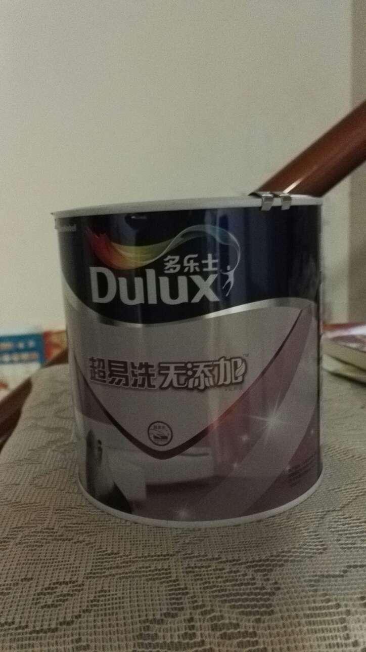 多乐士(Dulux)超易洗无添加内墙乳胶漆油漆涂料墙面漆修补漆背景墙调色漆A663R11L