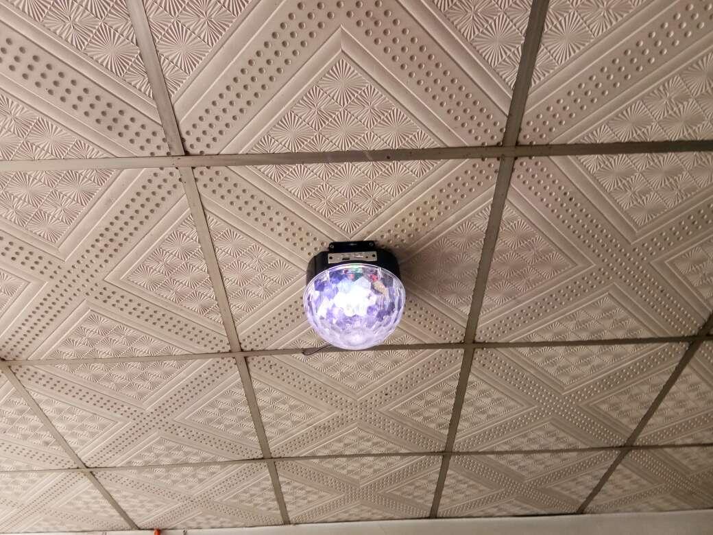 够能耐带蓝牙MP3音乐星空灯舞台灯光KTV灯光LED水晶魔球彩灯舞台镭射激光灯闪灯插