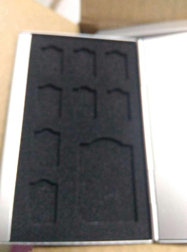 佰卓多功能内存卡盒CF卡SD卡TF卡收纳包SIM卡存储卡保护盒双层银行卡信用卡收纳盒S11(4SD+8TF)