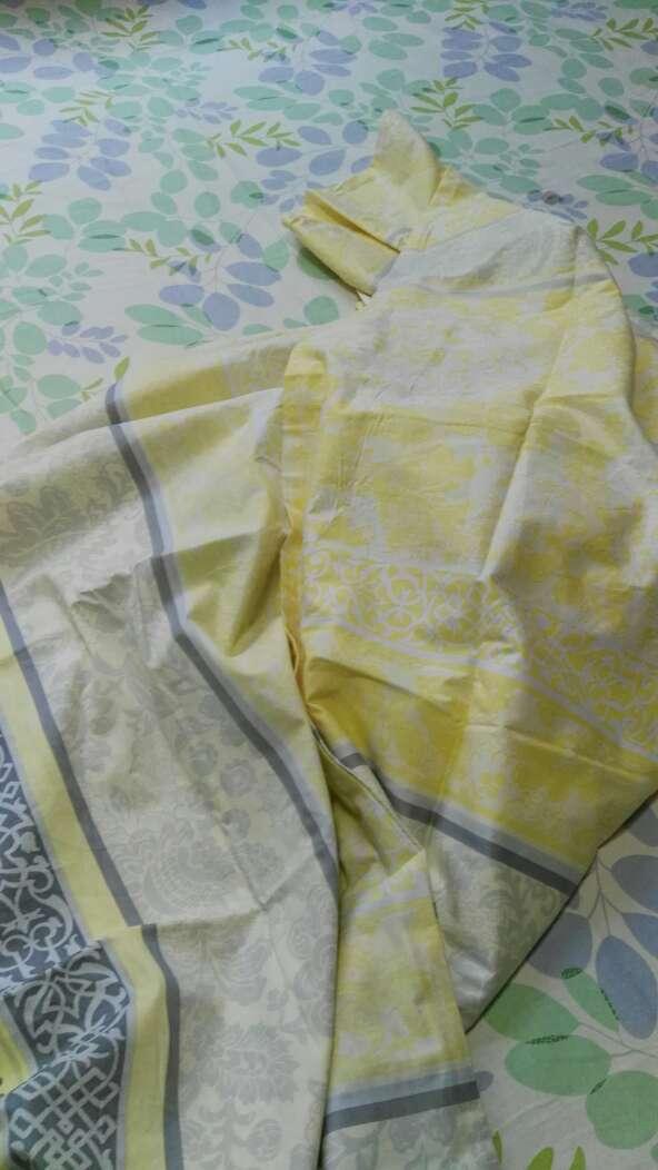艾薇床品家纺加大双人被套单件纯棉被罩220*240(米罗)
