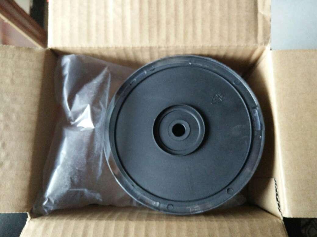 铭大金碟(MNDA)CD-R空白光盘/刻录盘52速700MB车载黑胶音乐碟红面10片桶装