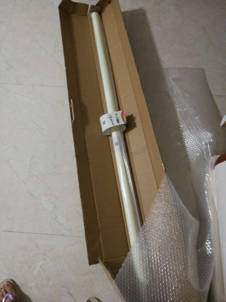 致尚双面同色卷帘遮阳办公室窗帘防水厨卫卷帘可喷绘印刷图案LOGOJL168经济版牙白K101平米价格
