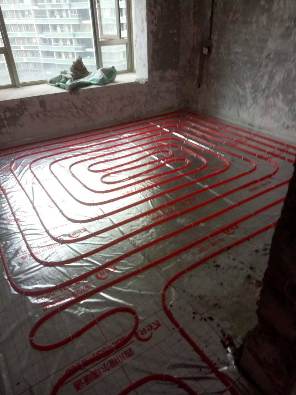 成都家用水地暖安装德国壁挂炉采暖系统家用锅炉水暖安装燃气壁挂炉水地暖模块安装家用采暖全套设备