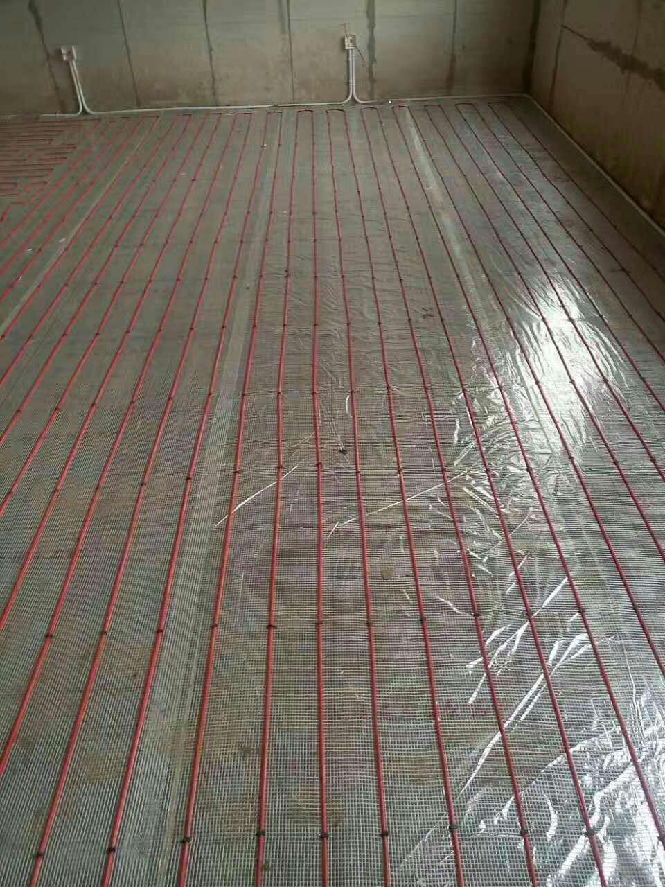 思予电地暖石墨烯碳纤维发热电缆智能加热线电热线丝家用节能经济型养殖地热线全屋定制地暖线10组适用于15平米